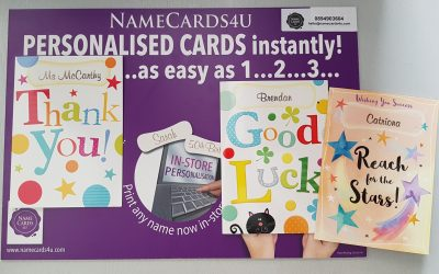 Exams Cards, Good Luck Cards and Thank you Teacher Cards